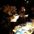 November 2011: der VfUBB auf der Langen Nacht des Tauchens in der Kulturfabrik Moabit, Berlin Moabit
