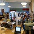 ARCHAEOworks (einzige Berufsmesse für Archäologiestudierende im deutschsprachigen Raum) an der Humboldt Universität zu Berlin, 08.-10.05.2015, Senatssaal