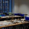 Im Rahmen einer Führung wurden uns die Labore des Fachbereichs Konservierung und Restaurierung gezeigt