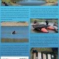Poster zur Einlagerung archäologischer Hölzer im Clara See