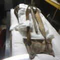Rucksack aus Holz und Fell, Hallstattzeit, ca. 800 v. u. Z.