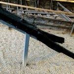 Separat erhaltene, für diesen Schiffstyp namensgebende Kaffe (Bugspitze) im Museum für Verkehr und Technik. Das hier gezeigte Modell ist eine sogenannte Klappkaffe