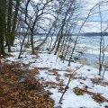 für den Praxisteil wartete der See mit einer Wassertemperatur von 2 Grad Celsius
